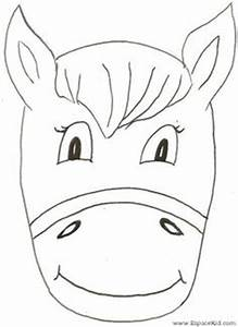 diy printable rabbit mask diy and crafts templates and kid With donkey face mask template