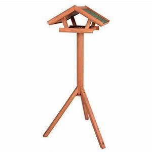 Mangeoire Oiseaux Sur Pied : mangeoire ext rieure sur pied pour oiseaux natura ~ Teatrodelosmanantiales.com Idées de Décoration