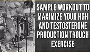 Short Workout Routine For Natural Testosterone And Growth Hormone