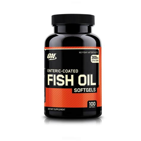 Buy ON Enteric Coated Fish Oil 100 Softgels Online In