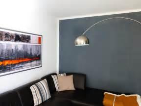 graue wand wohnzimmer die wirkung wandfarben der wohnsinn