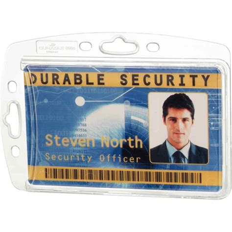 porte carte de bureau porte carte de sécurité 54x85 mm 1 carte boite de 10