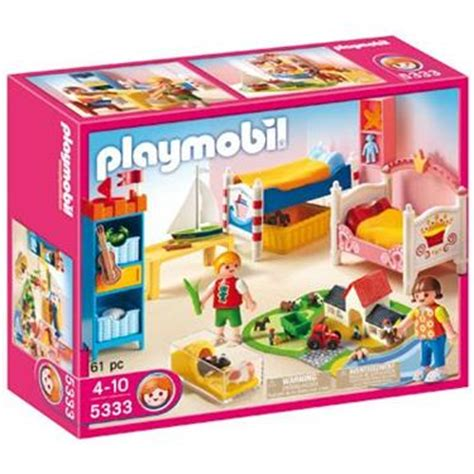 Kinderzimmer Junge Playmobil by Playmobil 174 Fr 246 Hliches Kinderzimmer Duo Shop De
