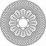 Guilloche Rosette Coloring Geometric Clipart Patterns Mandalas Svg Mandala Spirograph Pdf تلوين Clip Imprimir زخرفيه Drawing Publicdomains وحده Domain Openclipart sketch template