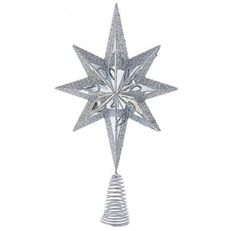 top 5 best christmas tree topper silver for sale 2016