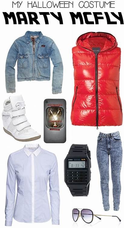 Halloween Costume Mcfly Future Marty Costumes Party
