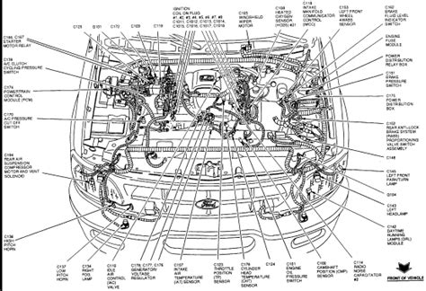 Ford Engine Diagram Component