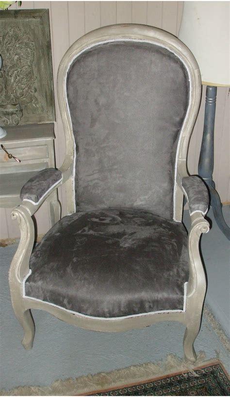 fauteuil voltaire patin 233 gris vendue photo de les