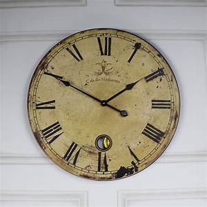 Vintage, Clock, Extra, Large, French, Style, Clock
