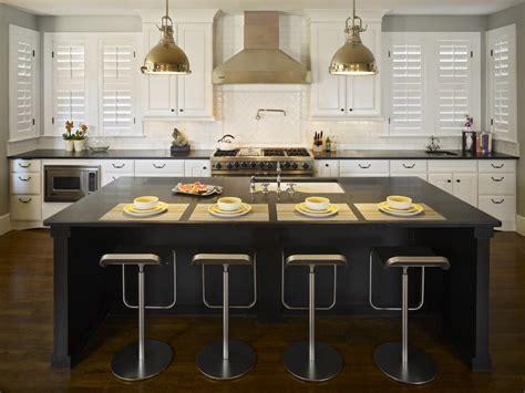 black kitchen islands pictures ideas tips  hgtv hgtv