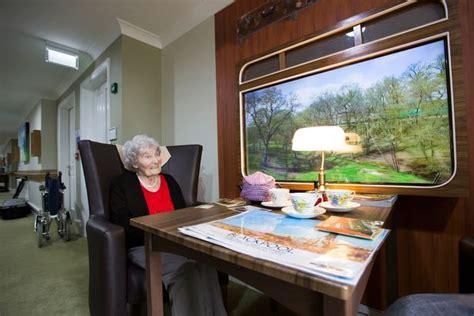 care home takes dementia patients  walk  memory lane