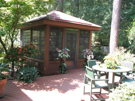 Detached Sunroom by How About A Detached Screen Porch Archadeck Outdoor Living