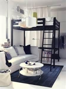 1 raum wohnung einrichtungsideen die kleine wohnung einrichten mit hochhbett freshouse