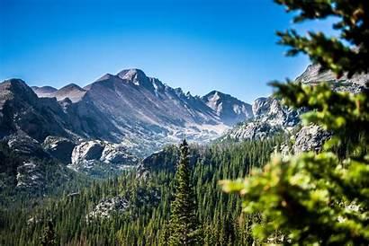 Rocky Park National Mountain Mountains Colorado Landscape