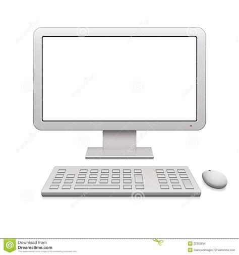 bureau ordinateur moderne ordinateur de bureau moderne images stock image 22303854
