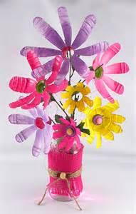 Water Bottle Flowers Craft