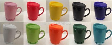 10oz Coffee Mug With Silicone Lid And Bottom
