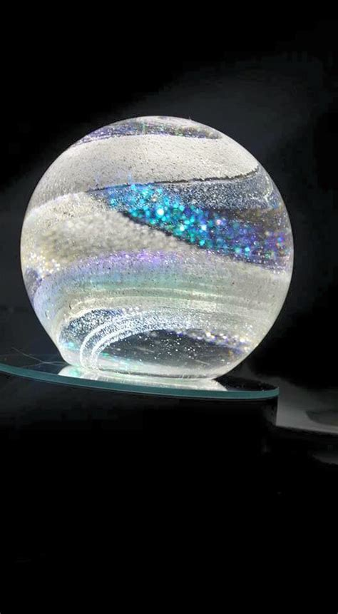 comforting glass sculptures  loved  alive