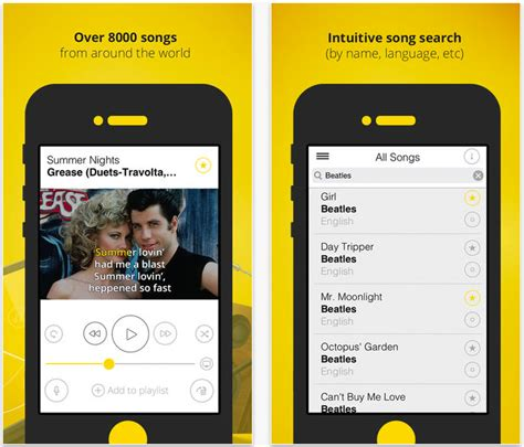 libreria iphone karaoketube karaoke su iphone con libreria di basi