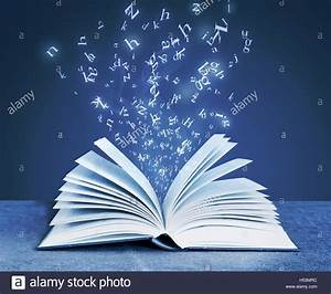Book Open Pages Flying Stock Photos & Book Open Pages ...