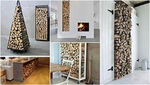 Brennholz Aufbewahrung Für Innen : stilvolle kaminholz aufbewahrung ideen f r innen ~ Articles-book.com Haus und Dekorationen