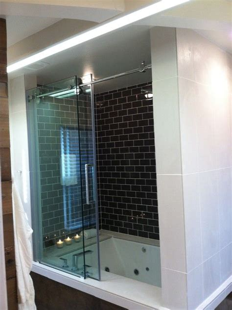 Jetted Bathtub Shower Combo by Sized Jet Tub Shower Combo Great Space Saving Idea