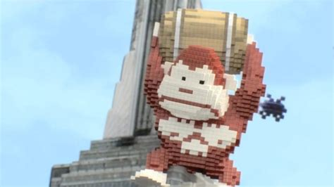 New Pixels Movie Posters Feature Pac-Man, Donkey Kong, More