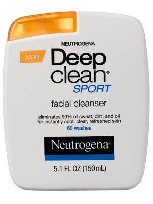 Neutrogena Deep Clean Sport Facial Cleanser Review   Allure