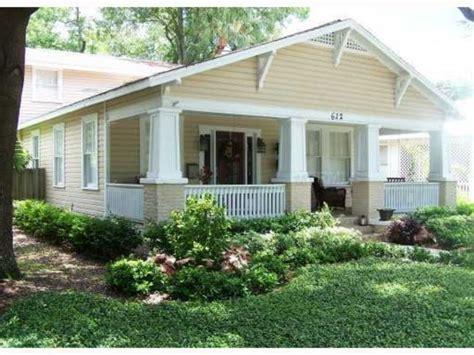 Craftsman Bungalow House Plans Florida Single Storey