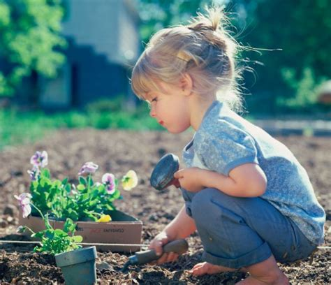 article on gardening what s the best thing to plant in your garden your children as experts warn we re raising a