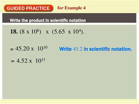 Scientific notation pbit 1