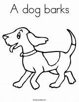 Dog Coloring Barks Built California Usa sketch template
