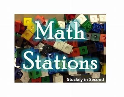 Math Stations Rotations Freebie Classroom Allison Second