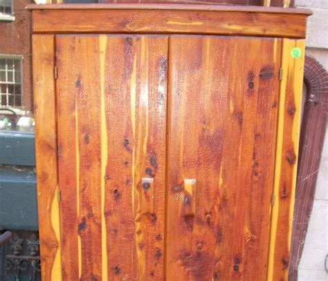 uhuru furniture collectibles 1950s solid cedar closet