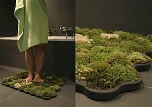Tapis Antidérapant Salle De Bain : cool id es pour le tapis de salle de bain original ~ Farleysfitness.com Idées de Décoration