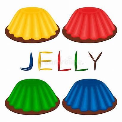 Vector Gelatin Jello Jelly Icon Clip Illustrations