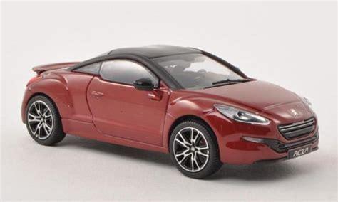 peugeot rcz black peugeot rcz r red matt black 2013 norev diecast model car