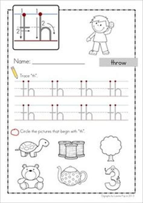 digraph worksheets sh ch  wh ph ee oo digraphs