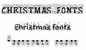30 Christmas Fonts - PC Advisor