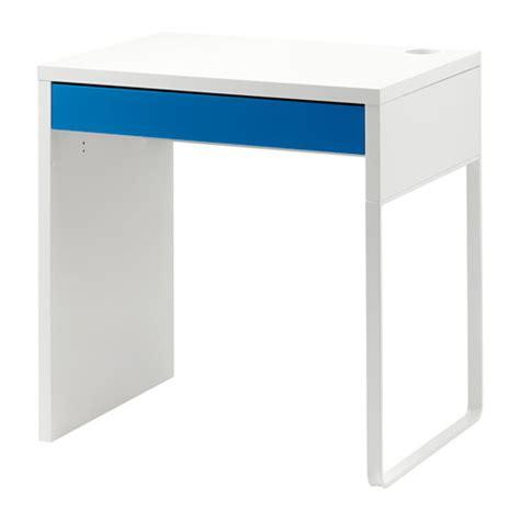 Ikea Computer Desk Workstation White Micke by Micke Desk White Blue Ikea