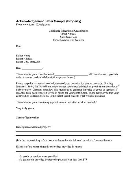 image result for donation letter format exles grand