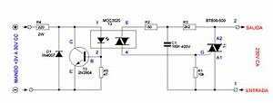 Solid State Relay Circuit Diagram In 2019