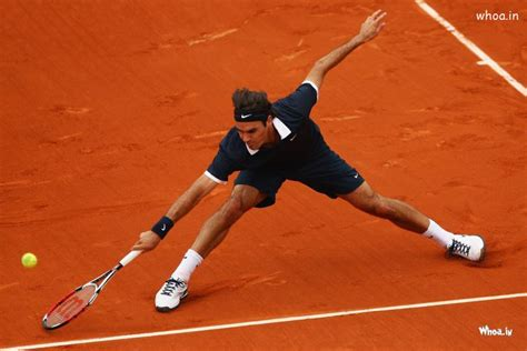 roger federer playing tennis hd wallpaper