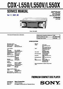 Sony Cdx S2200 Wiring Diagram
