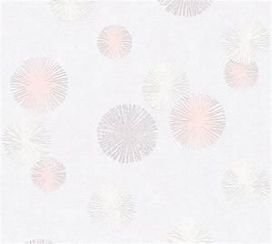 Papier Peint Rose Et Gris : papier peint intiss snowflakes gris rose papiers peints ~ Dailycaller-alerts.com Idées de Décoration