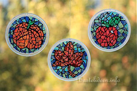 Fensterbilder Herbst by Basteln Zum Herbst Mit Kindern Upcycling Bastelidee