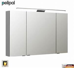 Spiegelschrank 110 Cm : pelipal neutraler spiegelschrank s5 110 cm mit led aufbauleuchte impulsbad ~ Indierocktalk.com Haus und Dekorationen