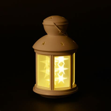 decorative lanterns indoor homcom 12 led decorative indoor outdoor star lantern coffee warm white pop up deals