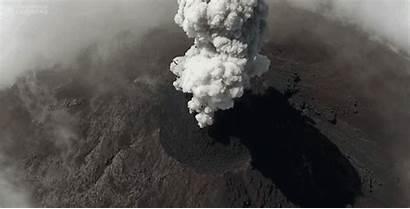 Volcano Close Eruption Volcanic Eruptions Drones Ups