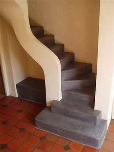 Escalier Colimaçon Beton : 110 best images about escaliers on pinterest ~ Melissatoandfro.com Idées de Décoration